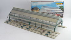 Faller H0 - 120199 - two covered platforms with lighting