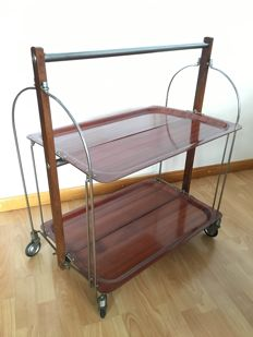 Unknown designer - foldable hostess trolley.