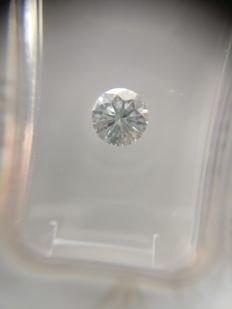 0.55 ct Round cut diamond F SI2