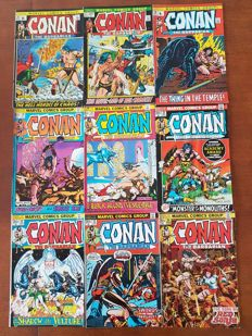 Huge Collection Of Marvel Comics - Conan The Barbarian - x248 SC - (1972/1995).
