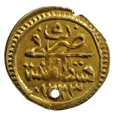 Ottoman Empire - gold coin as a pendant