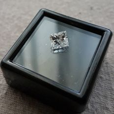 1.05 ct Princess Diamond VS2/D ** low reserve price **