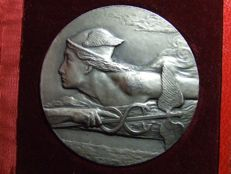"Algeria (colony) ""Algiers Chamber of Commerce"" medal, nd - Silver"