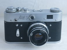 FED 3, a 35mm rangefinder camera, in very good condition