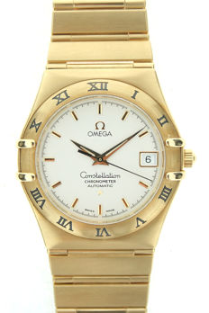 Omega Constellation – Men's watch – Gold – 02/2000