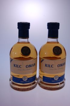 2 bottles - Kilchoman 100% Islay 5th Edition Single Malt Edition