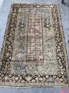 Very lovely antique Caucasian Karabagh carpet, handmade, 140 x 210 cm