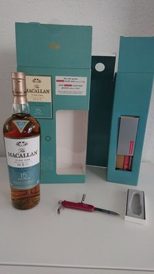 Macallan 15 Swiss army knive edition.
