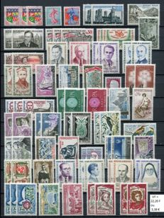 France 1960/1978 - Stamp collection - between Yvert no. 1230A and 2027