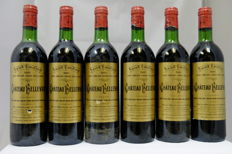 1981 Chateau Bellevue, Saint-Emilion Grand Cru Classe, France, 6 Bottles.