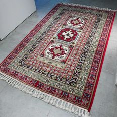 Special Tunesian rug with Kazak motif - 195 x 125 - unique design