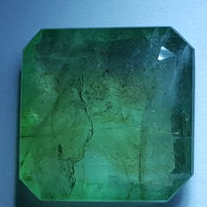 Emerald - 9,35 ct- No reserve price