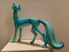 Blue Fox - Sculpture