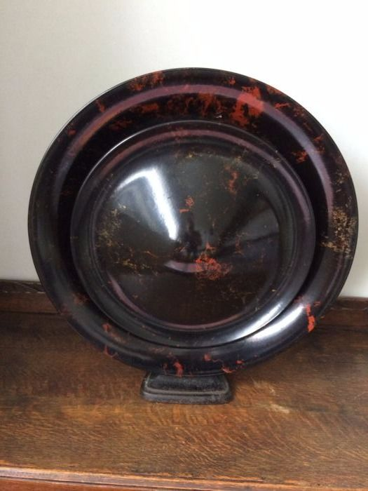 philips art deco speaker from 1928 with original 3 way plug catawiki. Black Bedroom Furniture Sets. Home Design Ideas