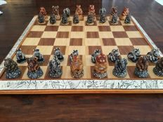 Chess set 'The Big Five' South Africa