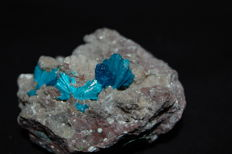 Blue Cavansite - 5.5 x 4.5 x 3.2 cm - 84 gm