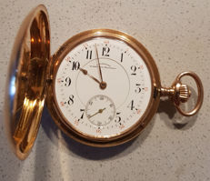 7. J. Assmann Glashutte I. Sachsen – gold savonette pocket watch – Germany circa 1890