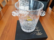 Champagne cooler limited edition, baccarat / handmade