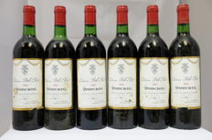 1981 Chateau Bel-Air, Pomerol, France, 6 Bottles.
