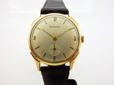 Bulova Watch Co. 10K Rolled Gold Plated Men's WristWatch 1950's