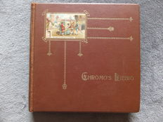 Album Chromos Liebig - 50 old series of 6 cards - Liebig edition in very good condition - from 1913 to 1923.