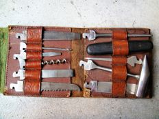Old set of tools - Wusthof Company - Solingen - Germany