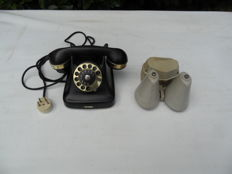 Telephone and outdoor bell