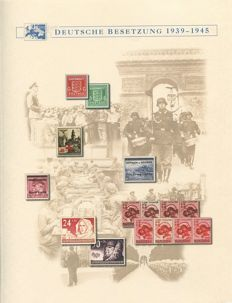 Generalgovernment 1939-1944 – Michel 1-125 complete + Ukraine and Ostland