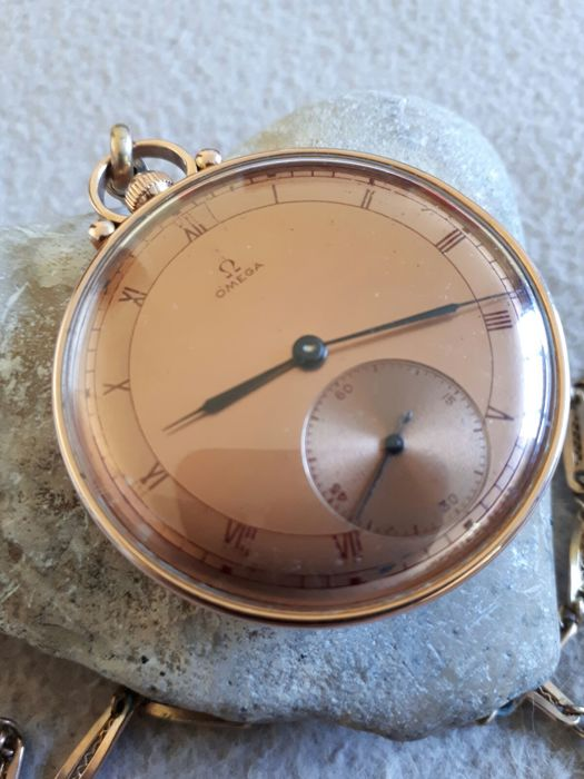Omega pocket watch with chain 1940