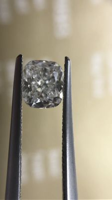 .92 ct Cushion-Cut Diamond, G, VVS1, GIA