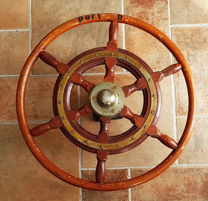 Large steering wheel 50 cm - 2nd half of the 20th century