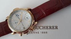 Bucherer Chronoghraph, Men's Wrist-watch 1970's.