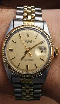 Rolex Oyster Perpetual Datejust Ref. 1601 – Men's Watch – 1970