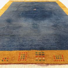 "GABBEH – 254 X 199 cm – ""Modern Persian carpet"" – Second half of the previous century."