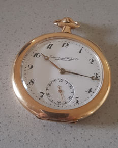 3. International Watch Co Schaffhausen - pocket watch - around 1935