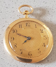 6. Cartier – gold pocket watch – circa 1920