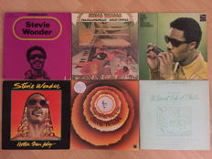 Lot of 6 Stevie Wonder albums