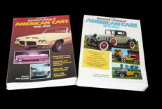 Standard catalogues of American Cars 1805-1942 (1568 pages)  plus 1946-1975 (864 pages - as new)