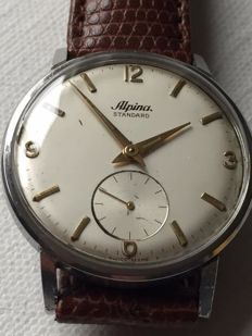 Alpina-Standard- Ref.592-Men's-1950-Swis-Ultra Rear