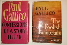 Paul Gallico - Lot of 2 books by Gallico  1954 /  1961