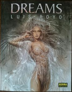 Signed; Luis Royo - Dreams - 1999