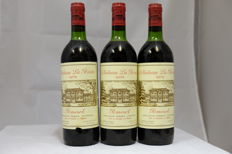1978, Chateau La Pointe, Pomerol, France, 3 Bottles.