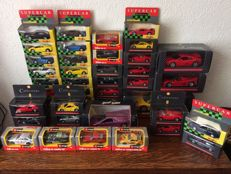 Maisto - Scale 1/43-1/18 - Collection with 41 car models