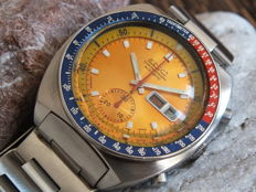 Seiko Pepsi Pogue (6139-6002) Golden Yellow Dial - Men's Automatic Chronograph - 1977
