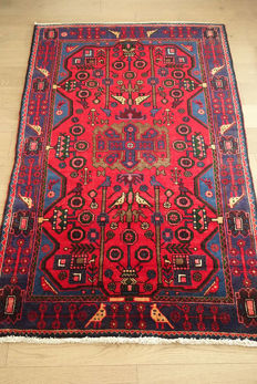 LOVELY Hamadan Village RUG  188x119cm circa 1990 in IMMACULATE CONDITION