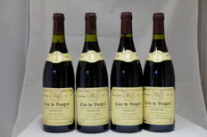 1992, Clos de Vougeot, Grand Cru, Rene Boulay, France, 4 Bottles.