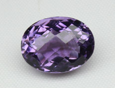 Amethyst - Purple - 9.91 Ct