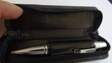 Montblanc Meisterstuck Boheme Vintage, marbling effect with individual Montblanc leather case