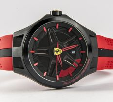 Scuderia Ferrari – Model 0830159 Lap-Time – Black and Red – Men's wristwatch. New.