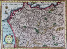 Germany, Austria, Poland, Netherlands....; Mercator/Hondius – Germania - 1644